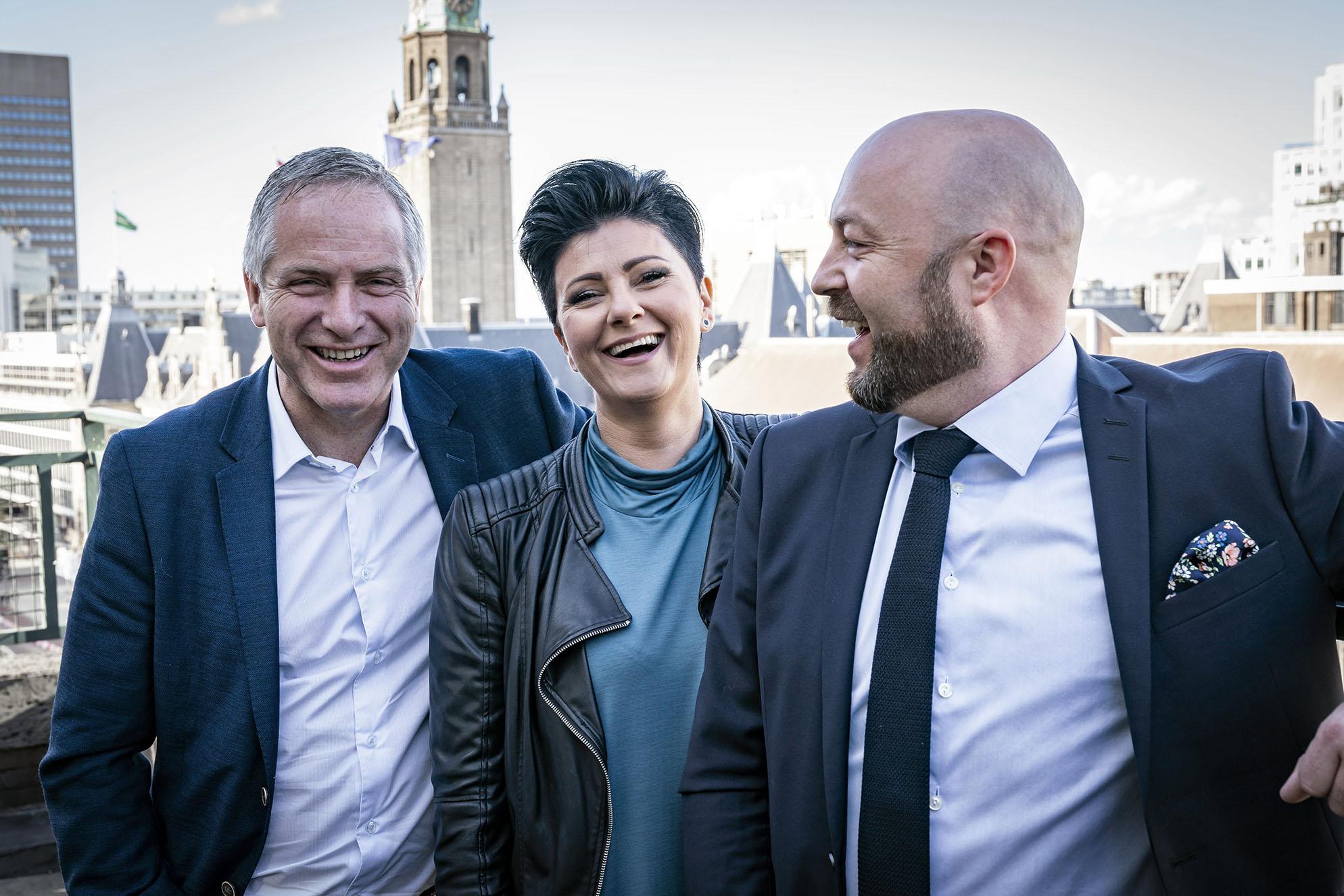 Team B2B ARENA: Øyvind Bjørge, Kimy Fagermo og Frank Victor Valderhaugstrand